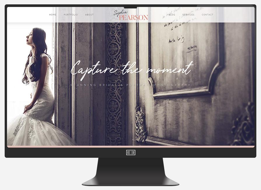 Photographer Website Example 3